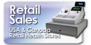 Retail health store sales