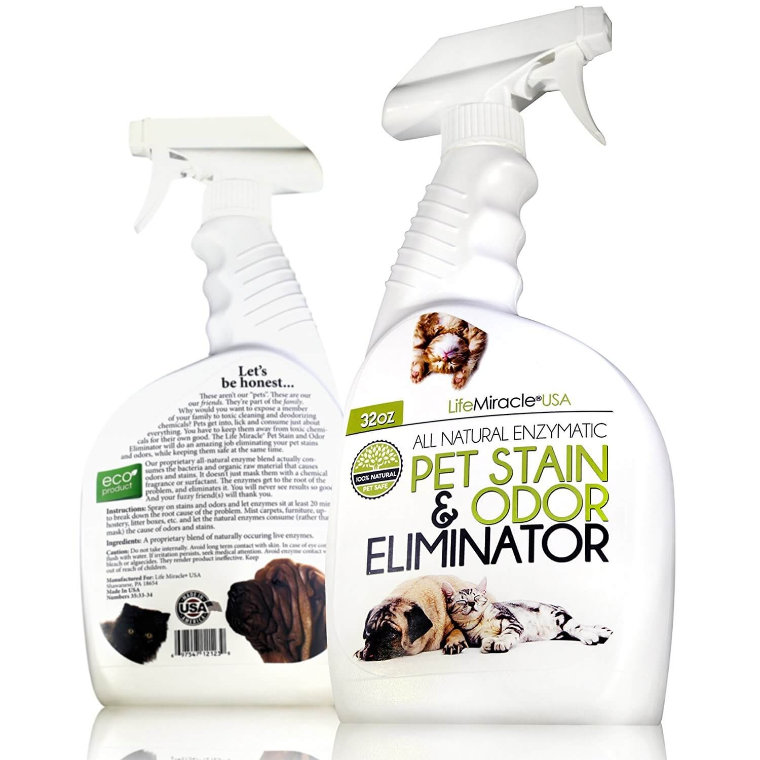 Pet Stain And Odor Eliminator Life Miracle Health